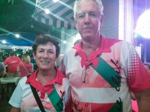 Lourdes and Terry Lund