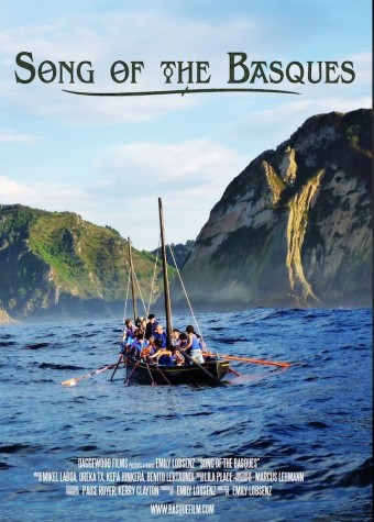"The poster for the film ""Song of the Basques."""