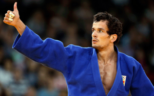 Sugoi Uriarte, judoka, hopes to do better than the 2012 Olympics.