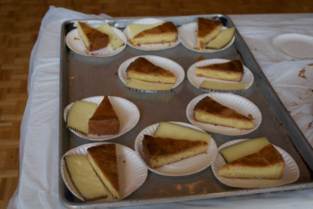 Gateau+Basque+and+cheese+were+on+the+dessert+menu.