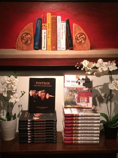 Hirigoyen%27s+cookbooks+in+the+entryway+of+the+restaurant.