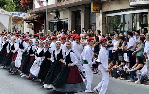 Dancers from California Perform in the Basque Country