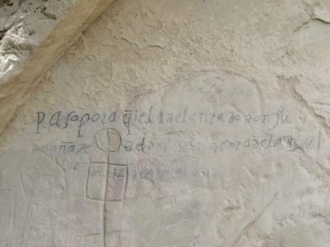 Petroglyph, Juan de Onate