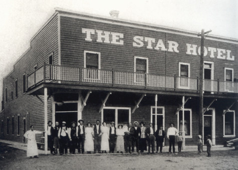 The Star Hotel shortly after it was built in 1910. Photo: Courtesy of the Northeast Nevada Historical Society and Museum Collection.