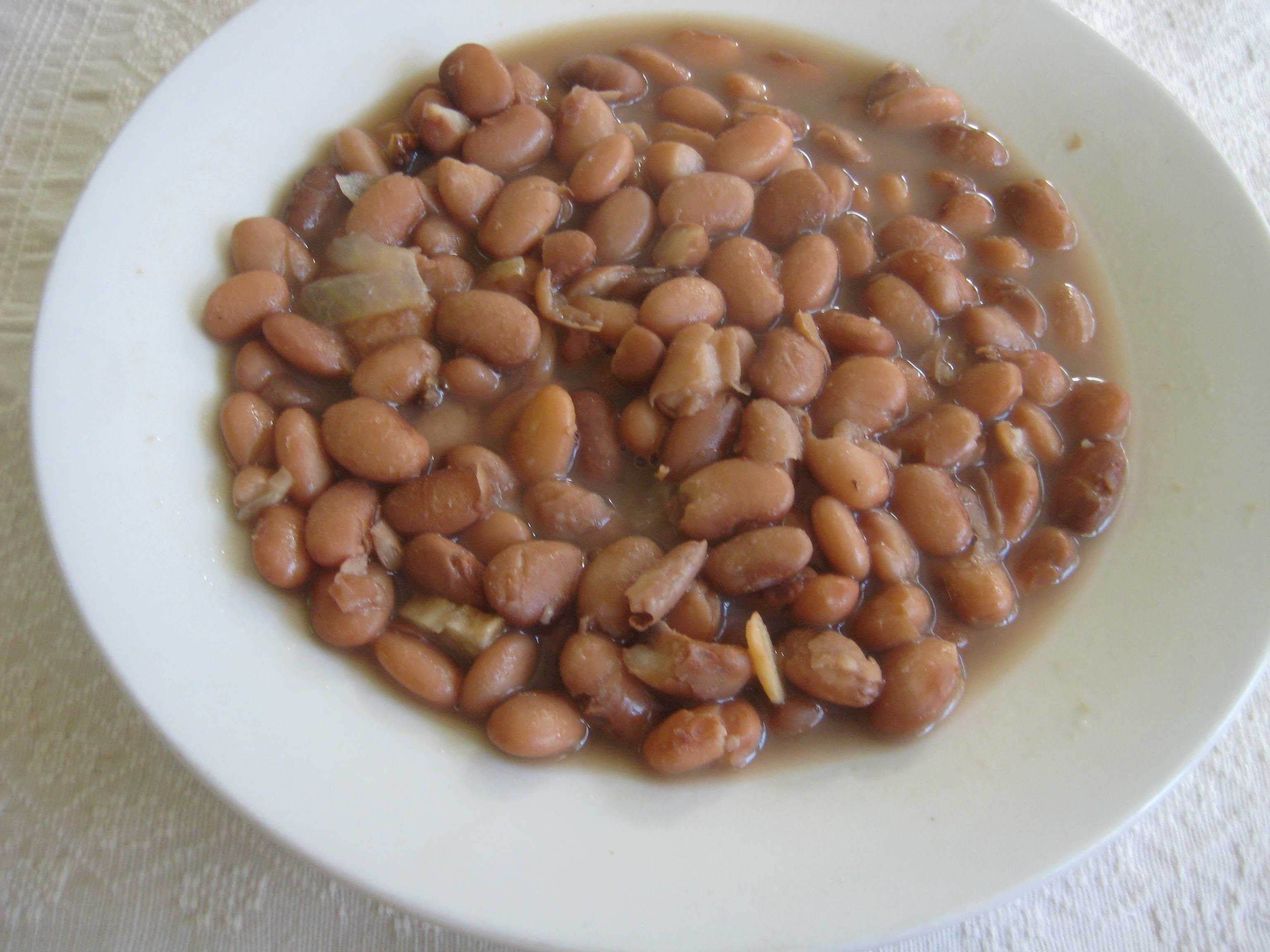 Basque beans. Photo by Euskal Kazeta