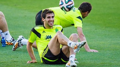 Javi Martinez is from Estella-Lizarra, Nafarroa and currently plays for Bayern Munich. Photo: fcbayern.de