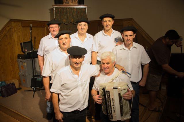 Basque Country musicians liven 2016 Chino Basque Festival