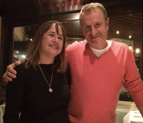 Chef Gerald Hirigoyen and I